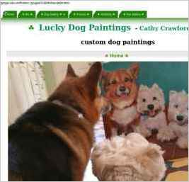 Lucky Dog Paintings