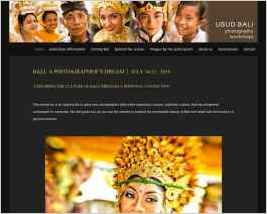 Photography Workshops in Bali, Indonesia, centered on the town of Ubud