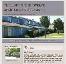 The Loft & The Twelve Townhouse Apartments in Clovis, CA