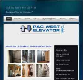 Pac West Elevator Inc.
