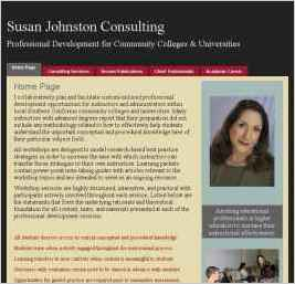 Susan Johnston Consulting: Professional Development for Community Colleges and Universities