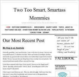Two Too Smart, Smartass Mommies
