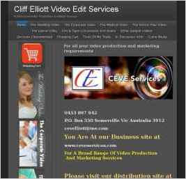 Cliff Elliott Video Edit Services