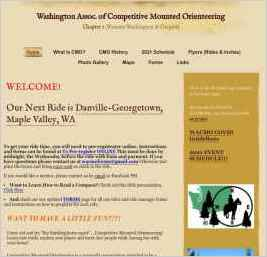 Washington Assoc. of Competitive Mounted Orienteering