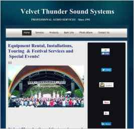 Velvet Thunder Sound Systems