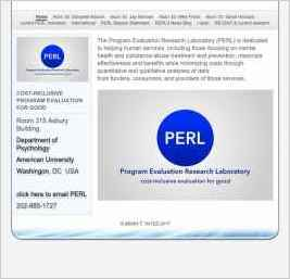 PERL: Program Evaluation Research Laboratory