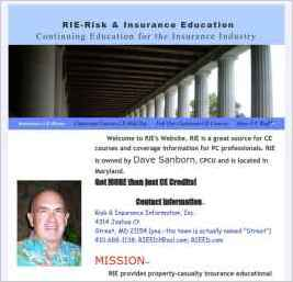 RIE-Risk & Insurance Education