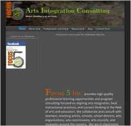 Arts Integration Consulting