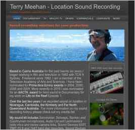 Terry Meehan Location Sound Recording
