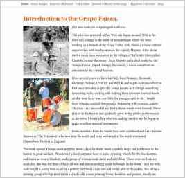 Introduction to the Grupo Faísca