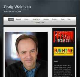 Craig Waletzko - New York Actor