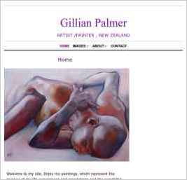 Gillian Palmer ARTIST /PAINTER IN NEW ZEALAND