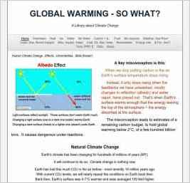 Global Warming - So What?