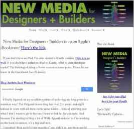 New Media for Designers + Builders