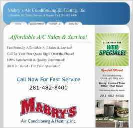 Mabry's Air Conditioning & Heating, Inc.