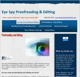 Eye Spy Proofreading & Editing