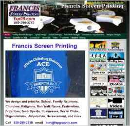 Francis Screen Printing