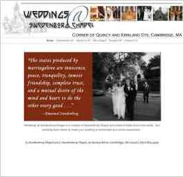 Weddings at Swedenborg Chapel