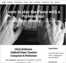 Learn to Play the Piano with a Professional
