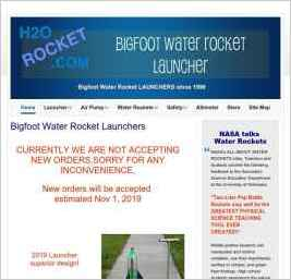 Bigfoot Water Rocket Launcher