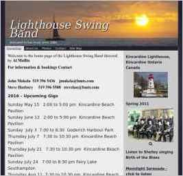 Lighthouse Swing Band