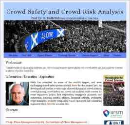 Prof. Dr. G. Keith Still FIMA - Crowd Dynamics