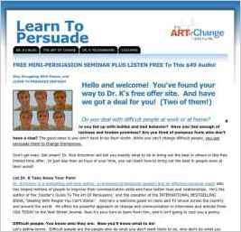Learn To Persuade with Dr. Rick Kirschner