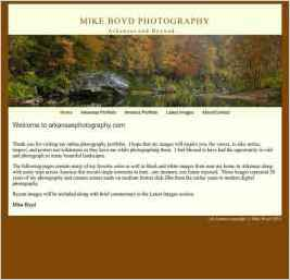 Mike Boyd Fine Art Landscape Photography