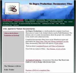 Six Degree Productions. Documentary Films