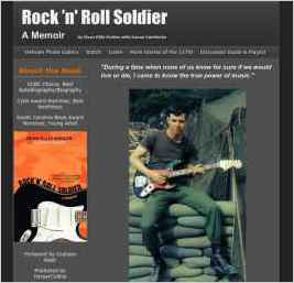 Rock 'N' Roll Soldier: A Website