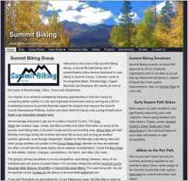 Summit Biking Group - Summit County Colorado