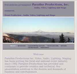 Paradise Productions Inc