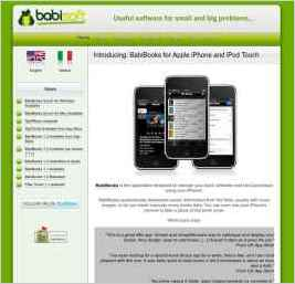 Babisoft - Software developed by Stefano Falda