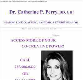 Dr. Catherine P. Perry, M.Ed., DD Author, Spiritual Healer
