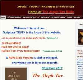 "Amarel - It means ""The message, or word, of God""."