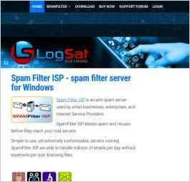 Spam Filter ISP - spam filter server for Windows