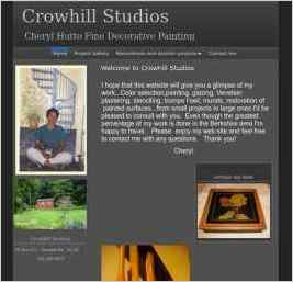 Cheryl Hutto Fine Decorative Painting at Crowhill Studios