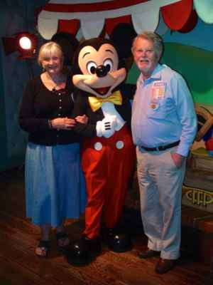 Meeting Mr M. Mouse
