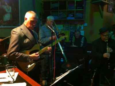Playing Jazz, Upstairs at Sirens Pub