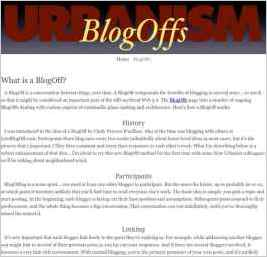 Urbanism BlogOffs