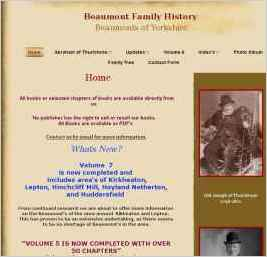 Beaumont Family History