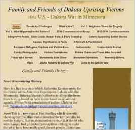 Family and Friends of Dakota Uprising Victims